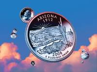 Arizona State Quarter - Sky Coin 48