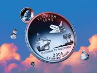 Florida State Quarter - Sky Coin 27