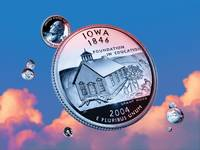 Iowa State Quarter - Sky Coin 29