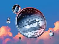 North Carolina State Quarter - Sky Coin 12
