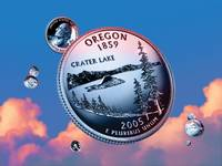 Oregon State Quarter - Sky Coin 33