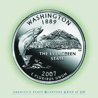 Washington State Quarter - Portrait Coin 42
