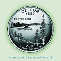Oregon State Quarter - Portrait Coin 33