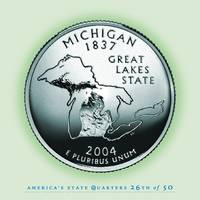 Michigan State Quarter - Portrait Coin 26