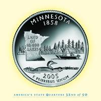 Minnesota State Quarter - Portrait Coin 32