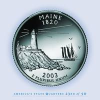 Maine State Quarter - Portrait Coin 23