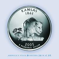 Kansas State Quarter - Portrait Coin 34