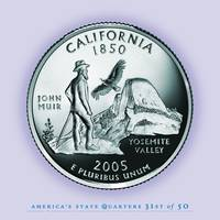 California State Quarter - Portrait Coin 31