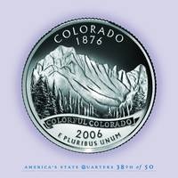 Colorado State Quarter - Portrait Coin 38