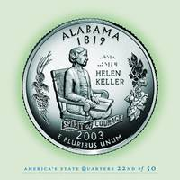 Alabama State Quarter - Portrait Coin 22