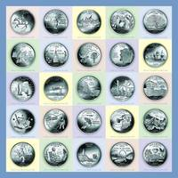 America's State Quarters - Portrait Coins 1-25