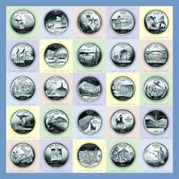 America's State Quarters - Portrait Coins 26-50