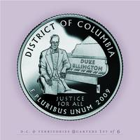 District of Columbia Quarter - Portrait Coin 51