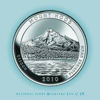 Mount Hood, Oregon - Portrait Coin 61