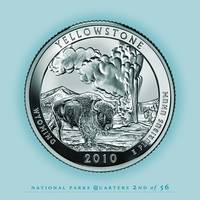 Yellowstone, Wyoming - Portrait Coin 58