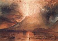 Joseph Mallord William Turner - Vesuvius in Erupti
