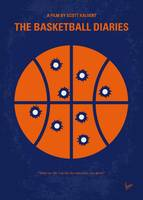 No782 My The Basketball Diaries minimal movie post