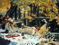 James Tissot,  Holyday c.1876