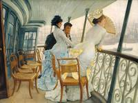 James Tissot,  The Gallery of HMS Calcutta (Portsm