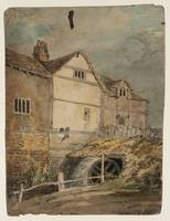 Pupil of Joseph Mallord William Turner A Watermill