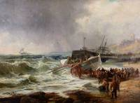 Robert Ernest Roe (fl. 1860-1900)  The lifeboat he