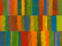 Color Collage with Stripes