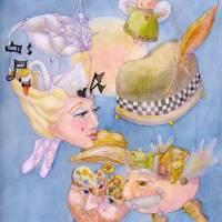 flights of imagination Art Prints & Posters by Laurel Nelson