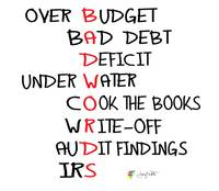 Bad Accounting Words