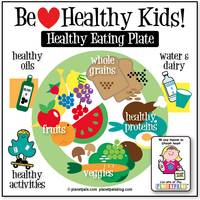 Planetpals Healthy Kids Eating Chart
