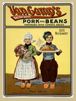 Pork and Beans Poster 1901