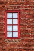 Red Brick And Window