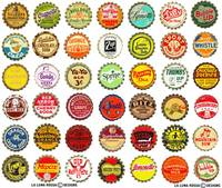 Vintage Soda Pop Caps
