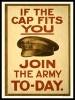 If the Cap Fits Join Army WWI