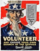 Choose Your Own Branch of Service Volunteer!