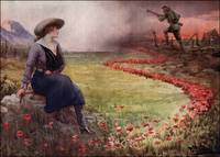 Thin Red Line of Poppies WWI
