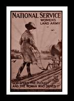 Women at Plow National Service WWI
