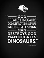 God Creates Dinosaurs