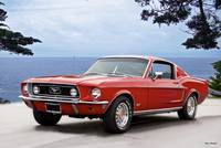 1968 Ford Mustang GT Fastback l