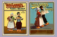 Hans And Lena 1901 Vintage Canned Goods Posters