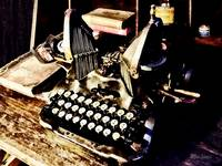 Antique Typewriter Oliver #9