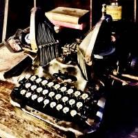 Antique Typewriter Oliver #9 Art Prints & Posters by Susan Savad