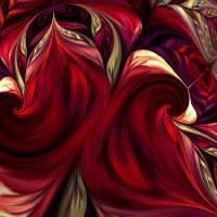 Scarlet Red Art Prints & Posters by Deborah Benoit