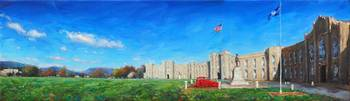 Virginia Military Institute Barracks Panoramic
