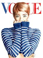 Emma Stone. Vogue Cover. Fashion Illustration