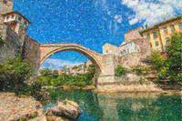 Bosnia Mostar Herzegovina Europe Travel Landmark