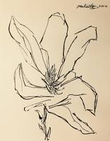 raw sketch flower