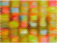 Modern Abstract Mosaic Color Combination 4