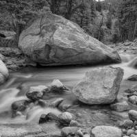 Soothing Colorado Monochrome Wilderness Art Prints & Posters by James