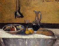 Still Life nature morte Camille Pissarro, 1867
