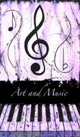 Art and Music Purple